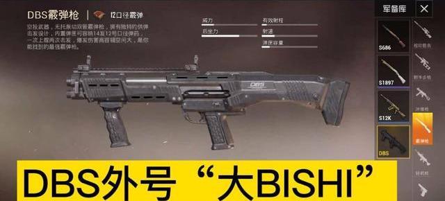 """《【合盈国际平台网站】和平精英:高手才知道的枪械""""外号"""",98K叫烧火棍,DBS叫什么?》"""