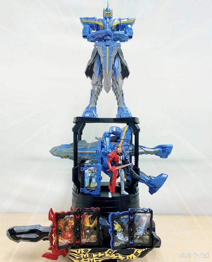 wcg主题曲_假面骑士圣刃亚瑟王玩具实物公开 比时王魔神机和01猛犸都大
