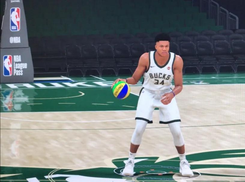 NBA2K:官方钦定的联盟第一人?模型之神字母哥,还是性价比之王 扬尼斯阿德托昆博 单机资讯  第3张
