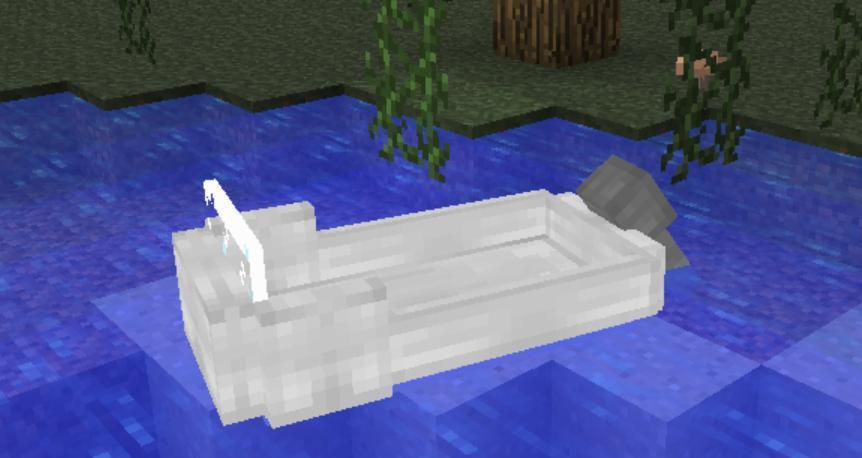 我的世界:这款MOD很神奇,不用对着水坑钓鱼,还能用珍珠附魔 钓鱼 端游热点  第5张
