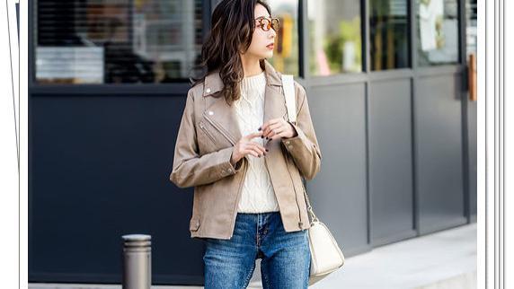 机车皮夹克怎么穿?适合轻熟女人的30种流行穿搭!时尚显气质