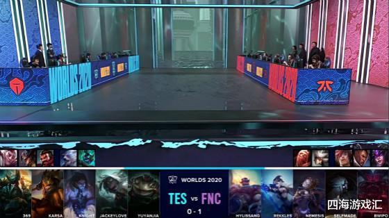 LOL:TES晋级无望?八进四两局比赛FNC狂碾TES2-0
