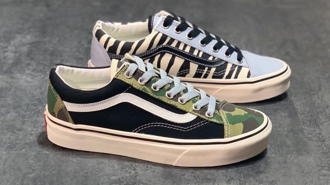 Vans Mismatch Style 36 万斯  迷彩斑马 军绿 鸳鸯 阴阳 帆布鞋