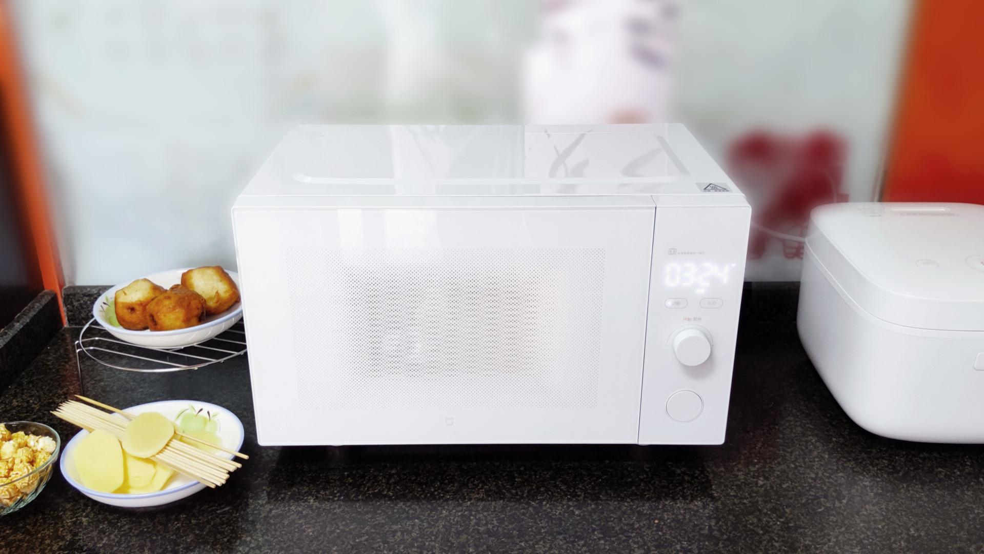 厨房减负行动,米家智能微烤一体机评测,微波+烤箱+除菌三者合一