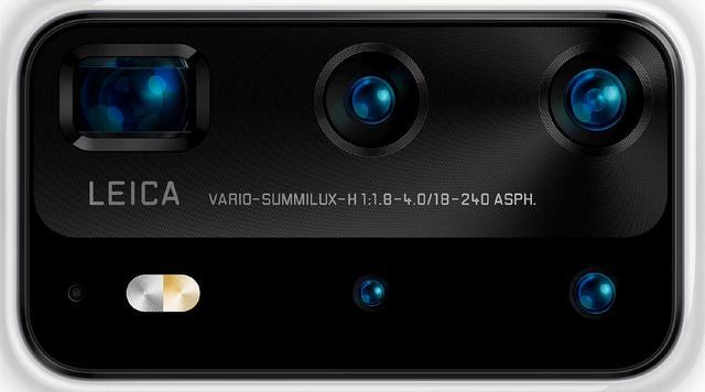 华为P40Pro镜头曝光,三星S20遭当头一棒,拍照有望全球第一