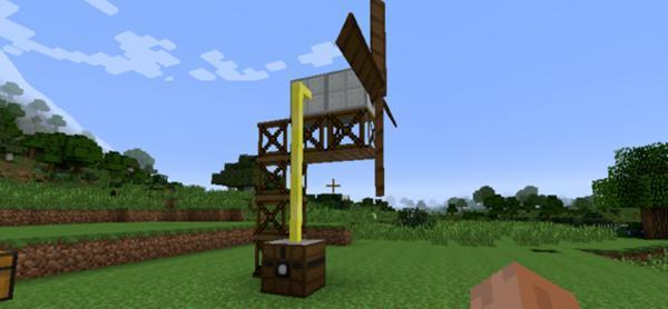 """《【煜星登陆注册】我的世界:MC原版到底有没有""""风""""?工业模组早就开发出机器了!》"""