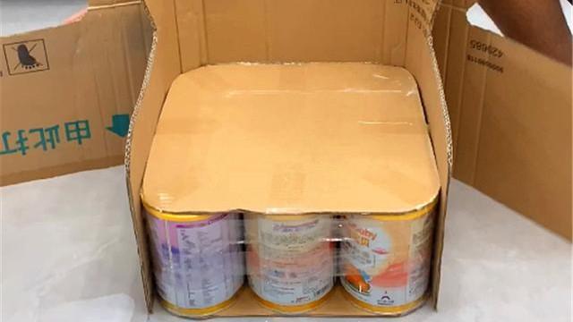 爸爸用9个奶粉桶,给孩子做了个小沙发,做法超简单,太实用了!