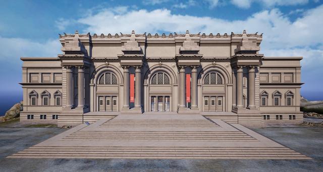 赛尔号犀牛_来一场艺术世界的冒险!《和平精英》上线大都会艺术博物馆