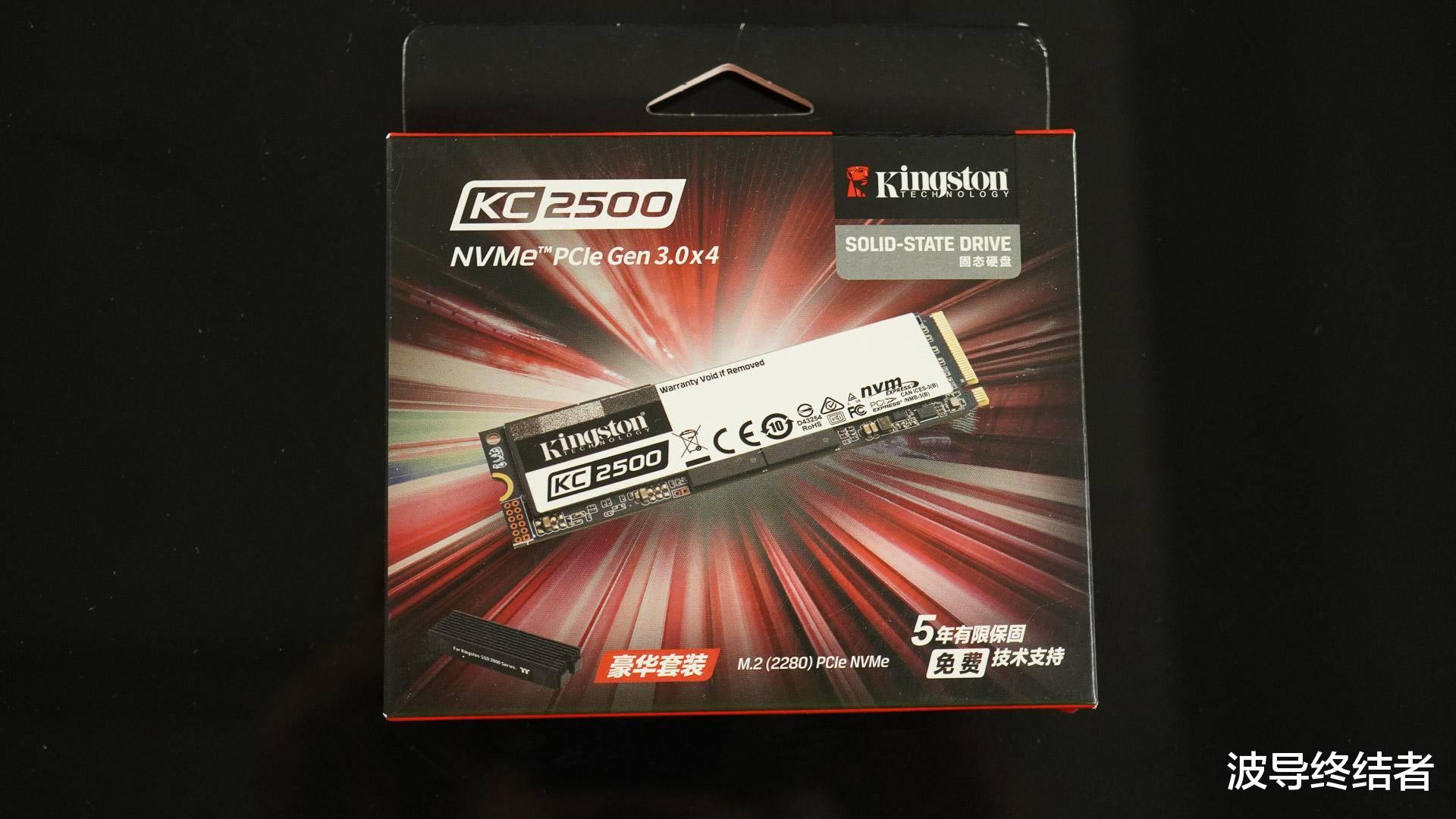unturned合成_惊人的性能和热量控制 - 金士顿KC2500 SSD