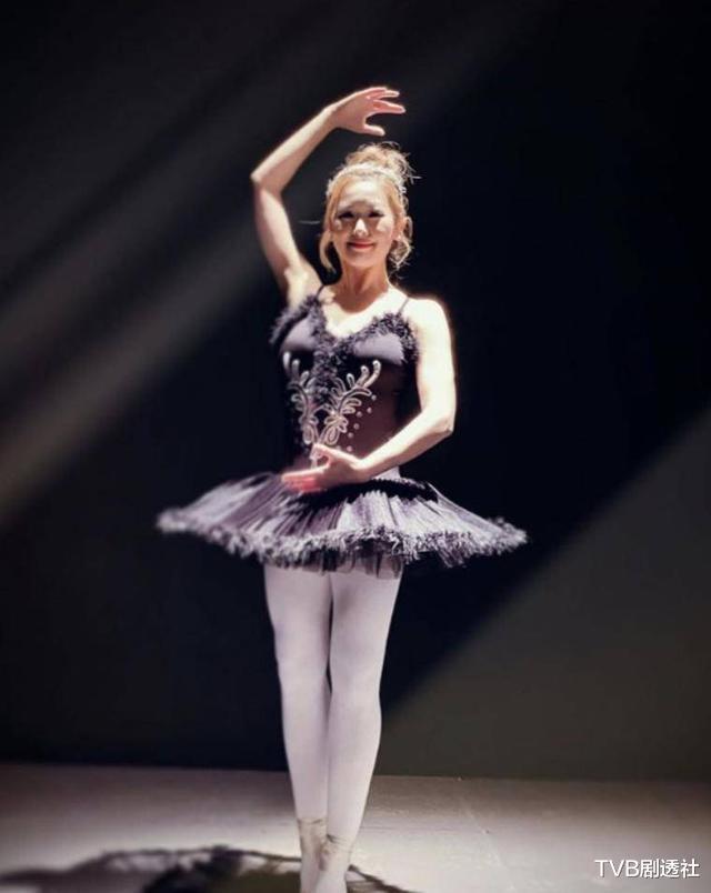 TVB花旦为拍剧忍痛练舞,放弃读硕士机会,进娱乐圈追梦