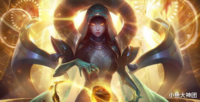 《【煜星娱乐主管】英雄联盟:对线时可以保护ADC,她还拥有一个强大的团控技能!》