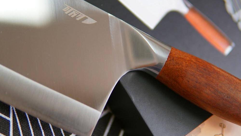 这把传承古法的国产菜刀,也能吹毛断发?第一顿做个开胃的