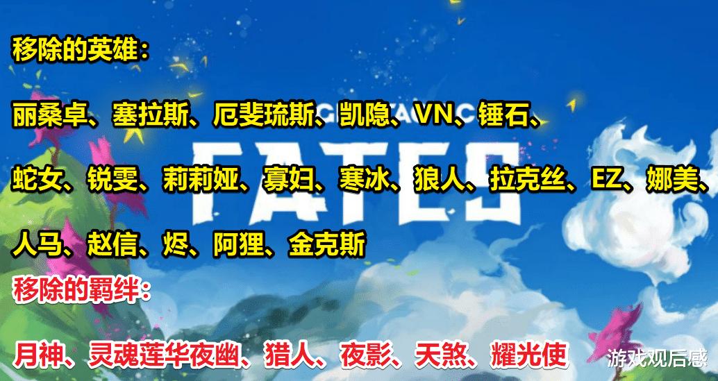 《【煜星娱乐主管】云顶之弈季中改动,大量内容将删除,莎弥拉、奥恩成新五费卡》