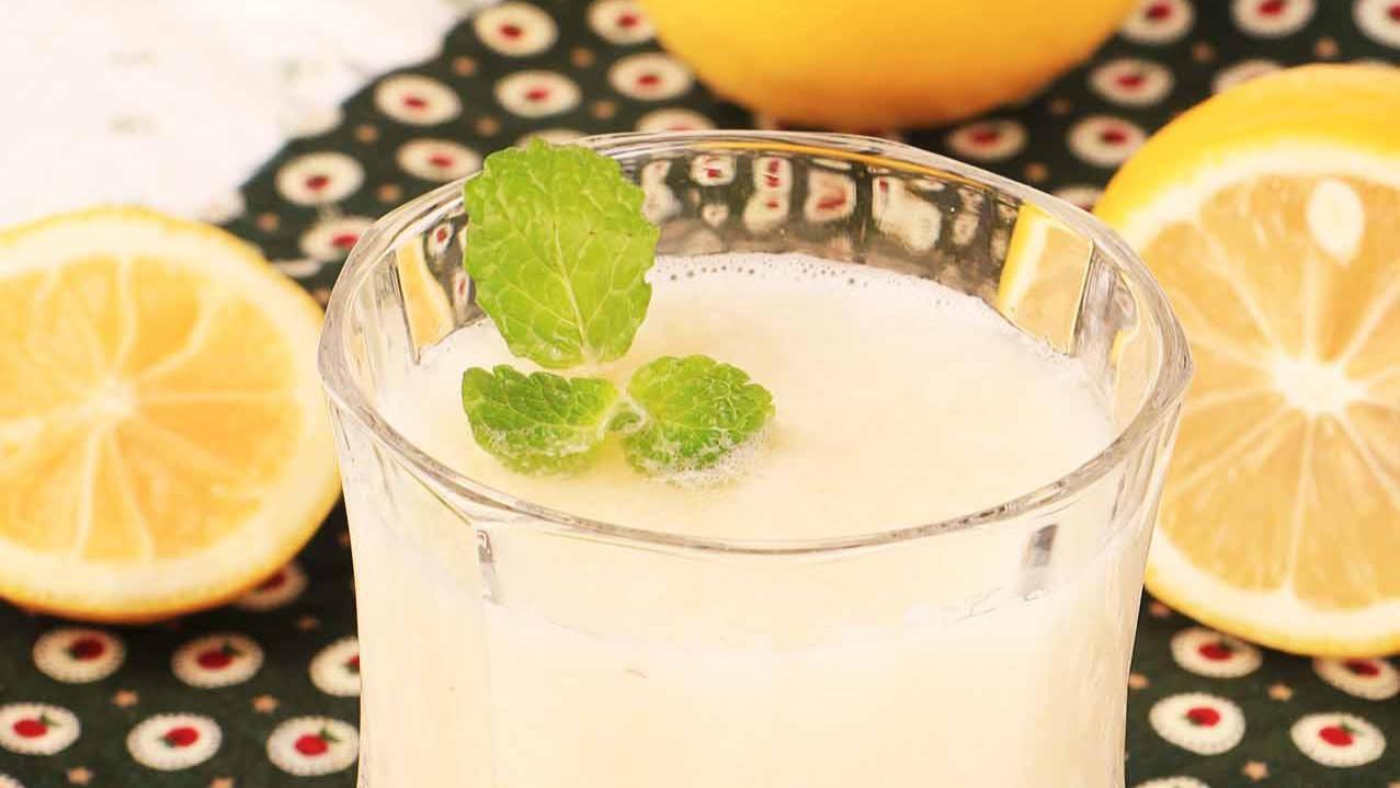「马蹄柚子柠檬汁」不但口感鲜美,还具有减肥功效噢