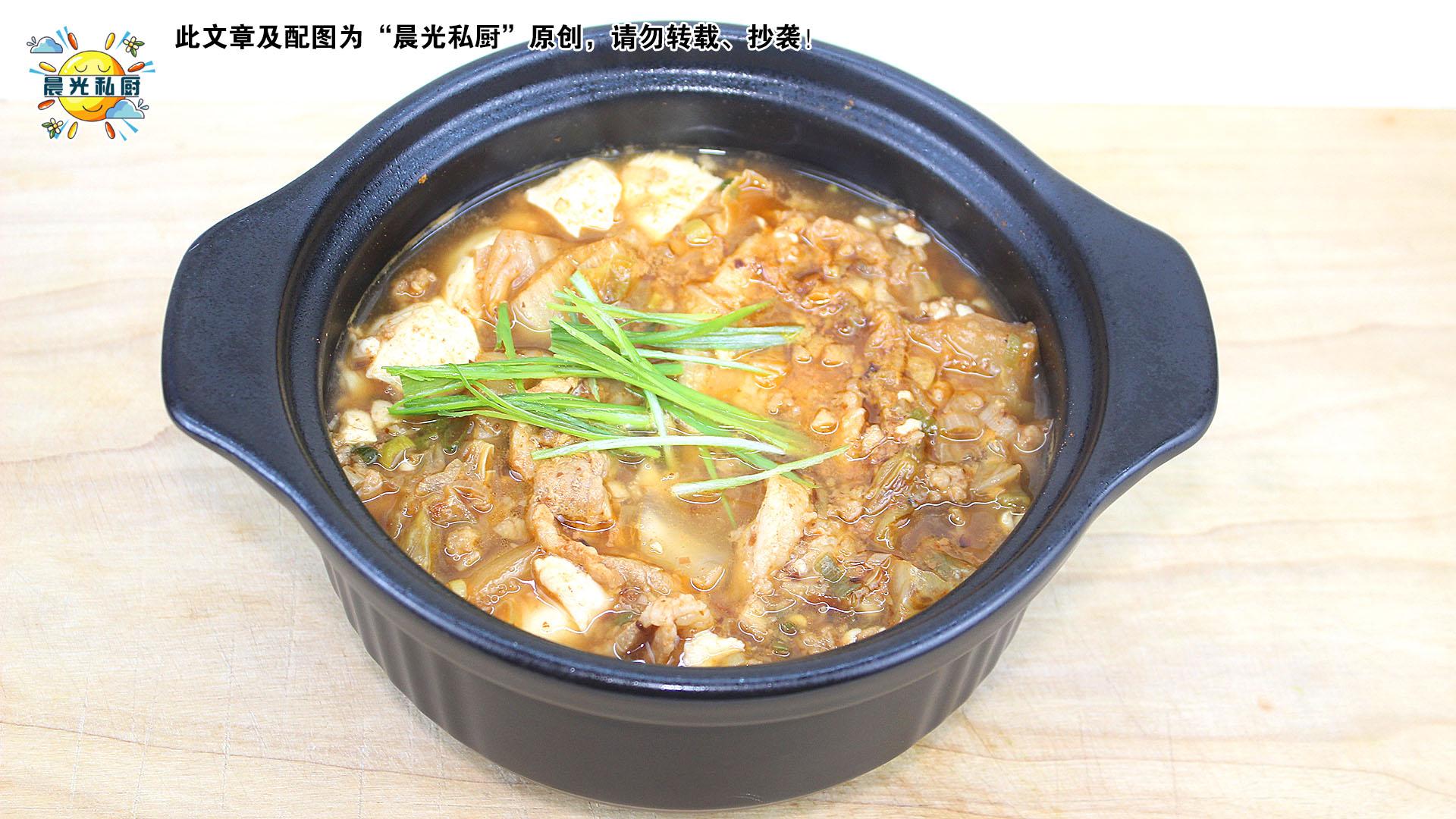 韩式猪肉嫩豆腐锅,秋天与冬天的暖心炖锅,还有万用基底酱料分享