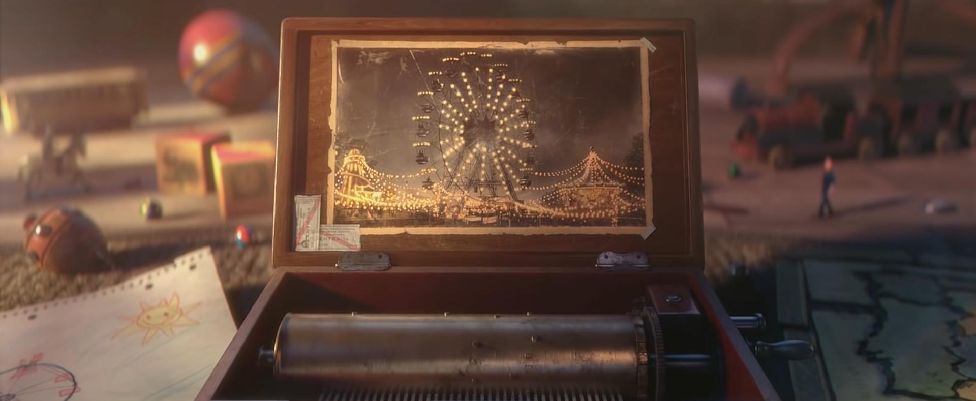 三国的网络游戏_恐怖动画《LA NORIA》:记忆摩天轮