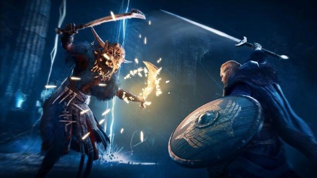 《刺客信条:英灵殿》新视频展示了各种蛮力技能插图