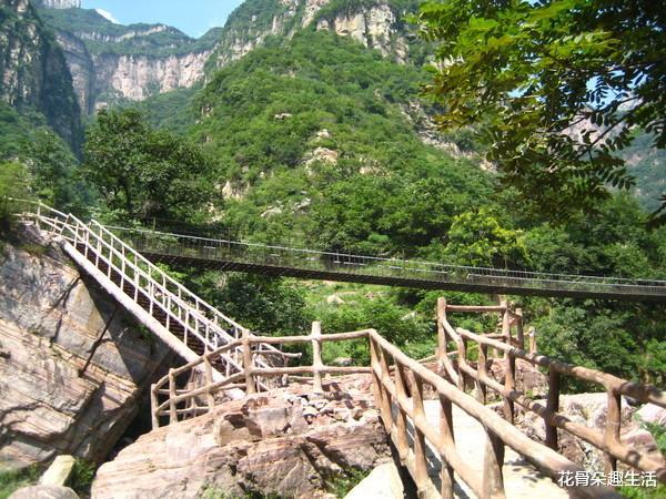 秋天去河南辉县回龙天界山游玩,欣赏独特的太行人文自然美景!