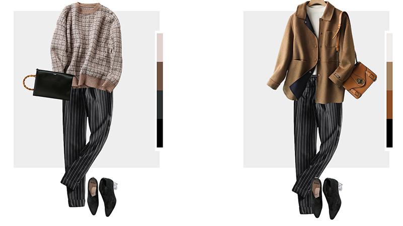 秋冬女士时尚搭配风向标,不仅风度温度兼备,还很成熟优雅有魅力
