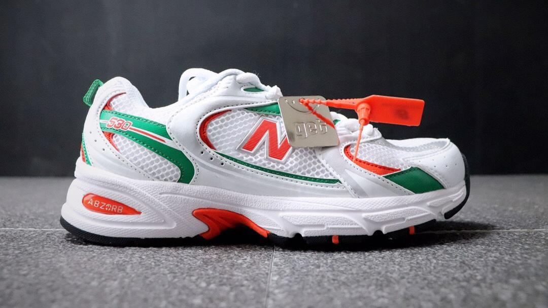 韩流爆火款式#2020新款NB新百伦New Balance MR530系列复古老爹风网布跑步休闲运动鞋。