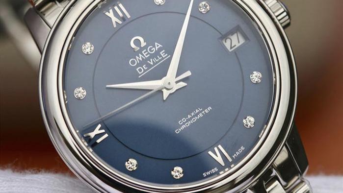 MKS厂欧米茄碟飞典雅系列腕表对比正品