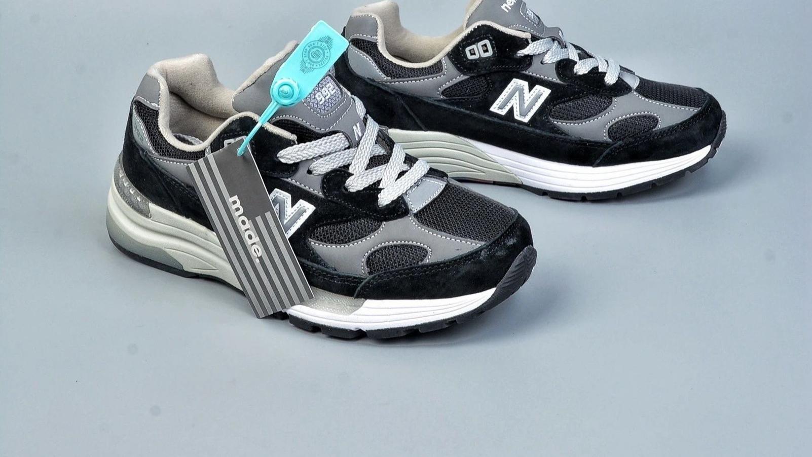 新百伦New Balance W992系列 缓震休闲运动老爹鞋