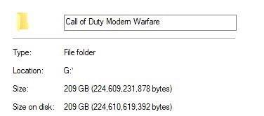 《【煜星在线登陆注册】《使命召唤16》PC硬盘容量已突破200GB,你们的硬盘如何了》