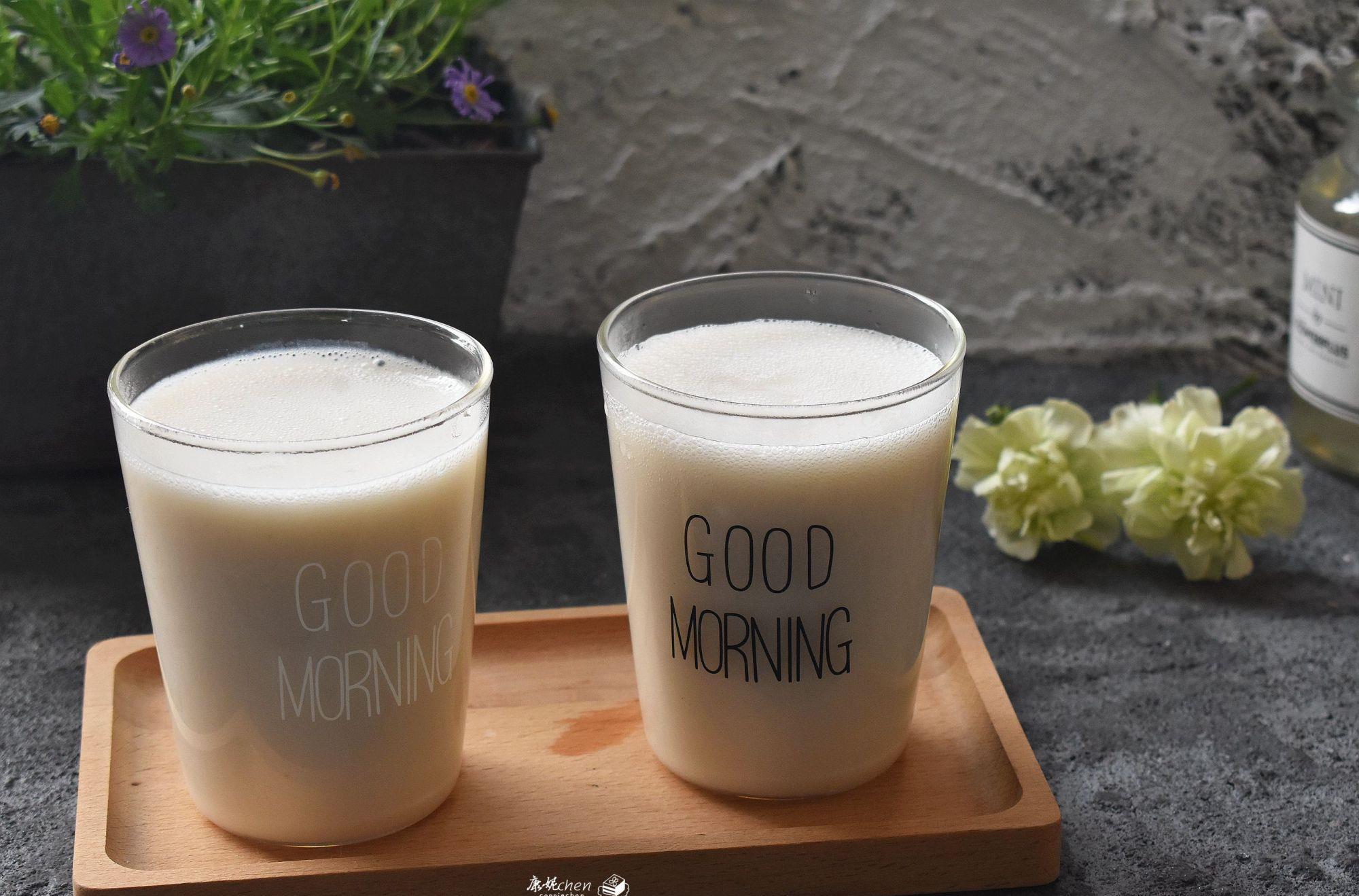 我爱上这早餐,比豆浆浓稠好吃,比煮粥简单省事,清香味美睡眠好