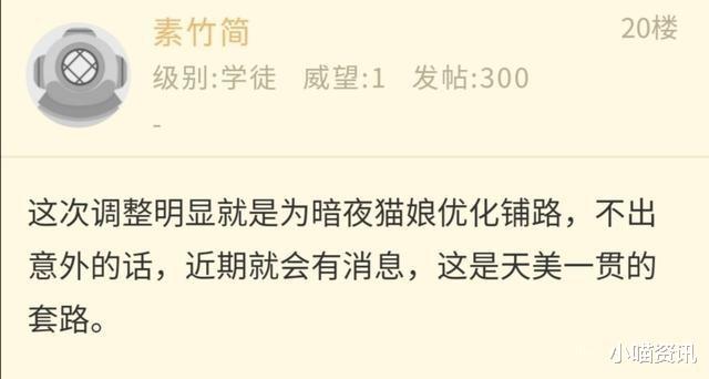 《【煜星娱乐测速登录】王者荣耀:阿珂节奏热浪被一刀削废,玩家称在为暗夜猫娘优化让路》