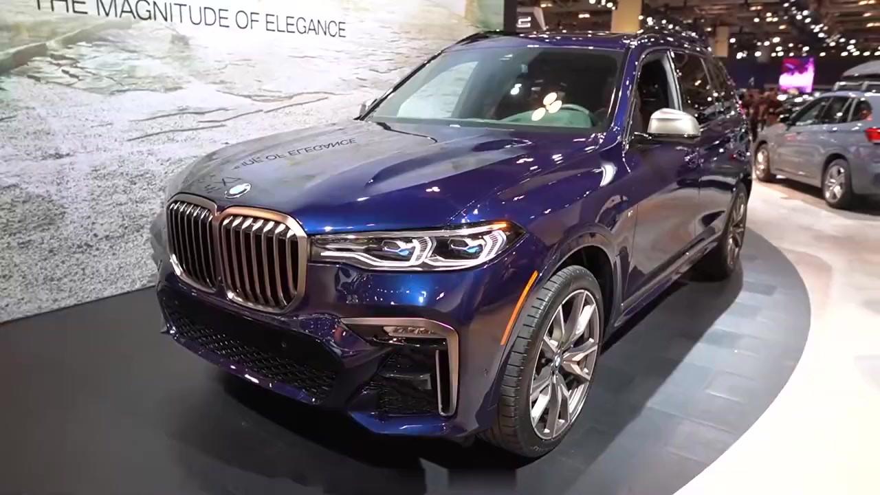 2020宝马X7 M50i 外观和内饰绕车介绍