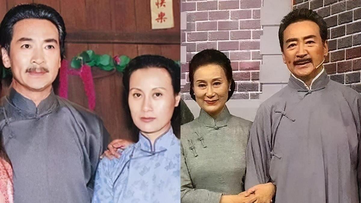 """""""文佩""""扮演者64岁徐幸,穿旗袍搭珍珠项链精致高贵,照穿洋气"""