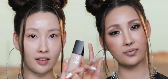 """韩国化妆达人拥有""""易容术"""",可将自己化成多位女明星,以假乱真"""