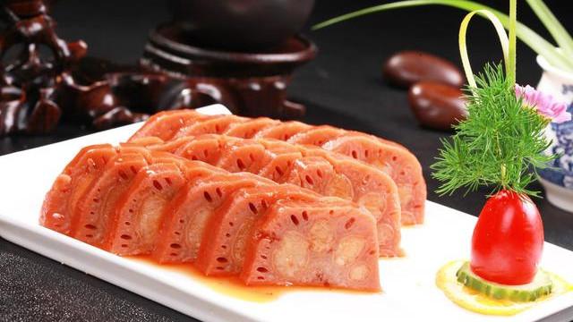 清新雅致的竹香糯米灌藕,幽香甜糯,仲夏之夜的江南诗韵美食做法