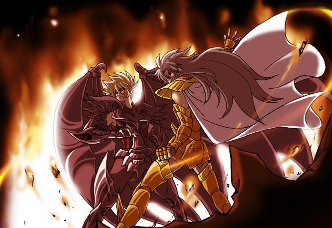 圣斗士星矢:冥界篇加隆之死,和其他黄金圣斗士脱不了关系