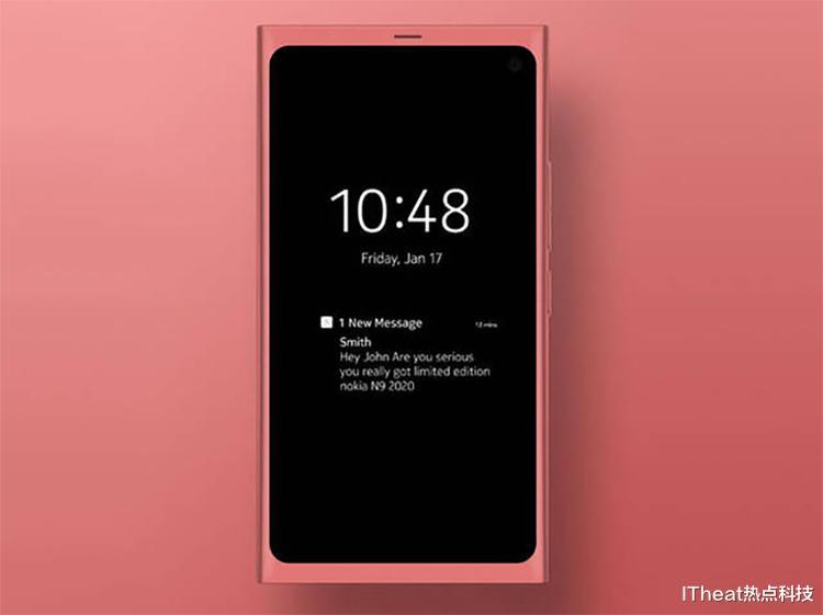 诺基亚新机曝光:N9 2020复刻版 经典造型再现