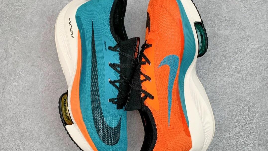 鸳鸯配色超强惹眼球!Nike Air Zoom Alphafly NEXT%跑鞋开箱