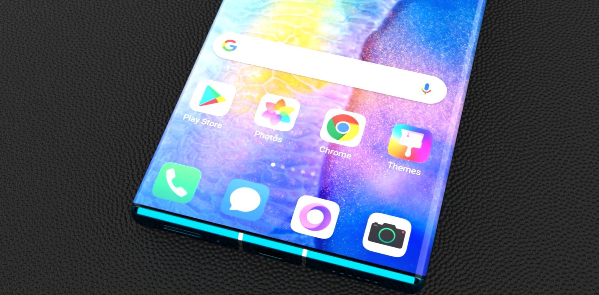 华为亮5G王牌:麒麟9000+鸿蒙OS+石墨烯电池,这才是真全面屏手机