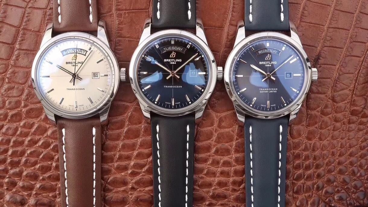 腕表刻度1号: 百年灵越洋系列头等舱腕表