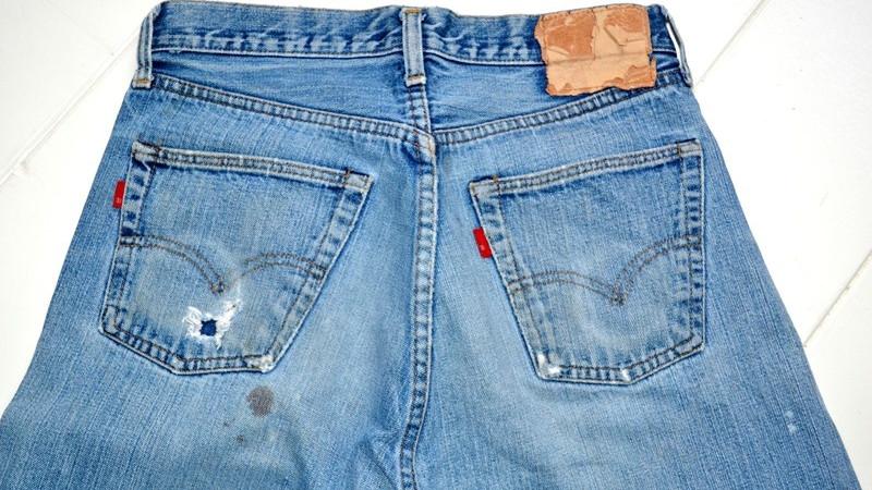 Vintage品鉴|Double ® 红旗标 1960年代罕见Levi's 501牛仔裤