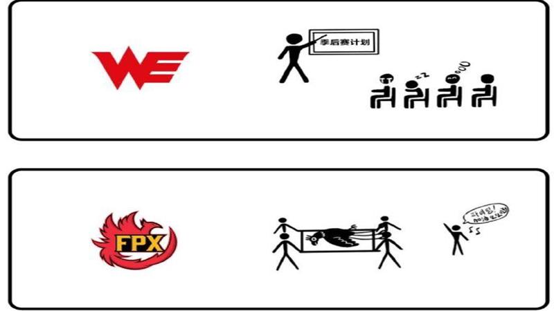 """《【煜星娱乐公司】LPL季后赛还没打,一张""""8强选手形象图""""先火了,JKL和LWX惨遭恶搞!》"""