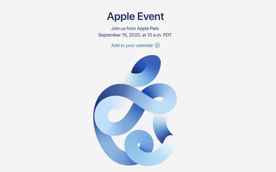 苹果2020秋季发布会确定日期,定于9月15号