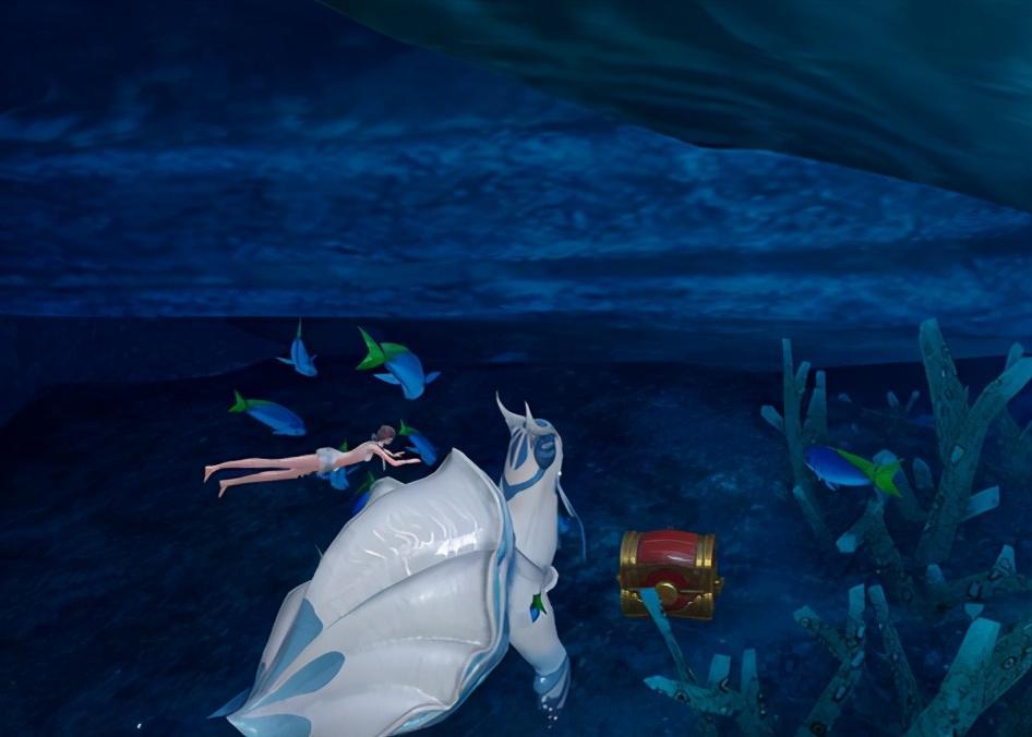 草稚京_除了诱人美景和万千宝藏,这个游戏海底还盘踞着万米上古神兽-第7张图片-游戏摸鱼怪