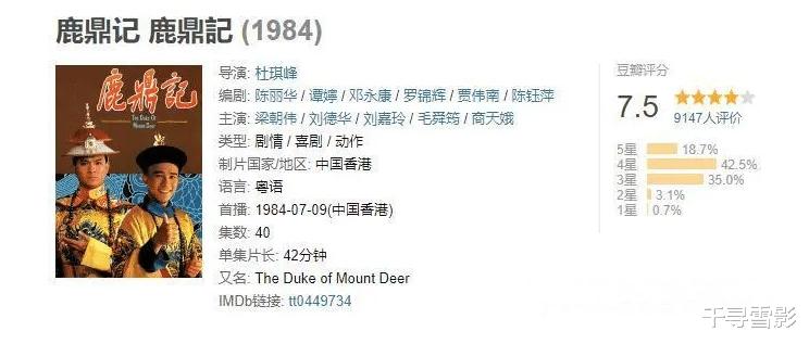 36年前TVB这版《鹿鼎记》里的七位女主虽然不算惊艳但也都具有辨识度插图