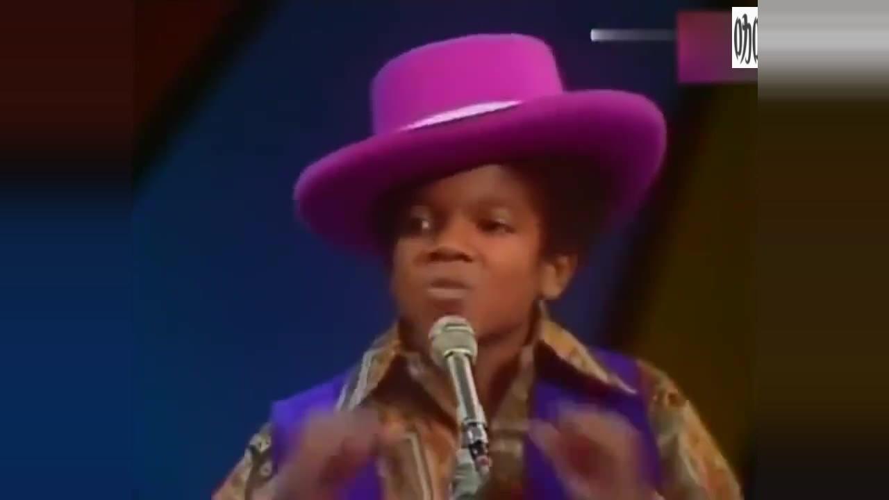 11岁的迈克尔杰克逊登台演唱, 注定是天王!