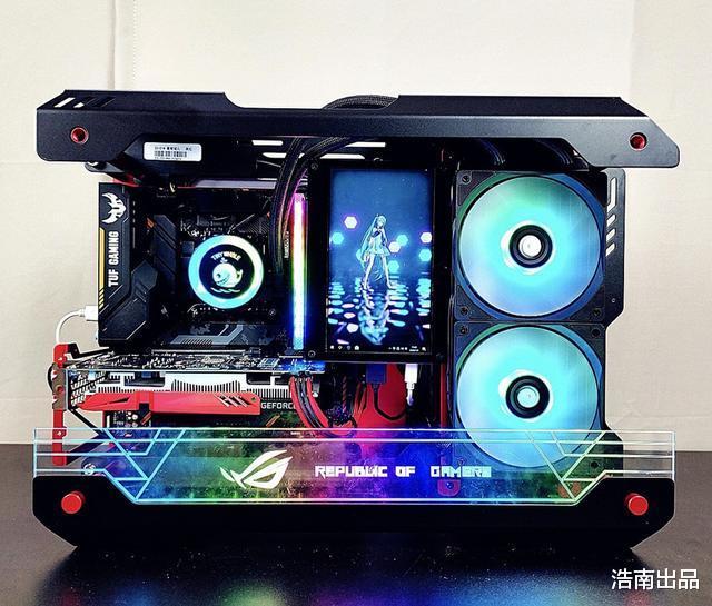 4000元内组装上万元感觉的电脑,定制水冷主机配置分享