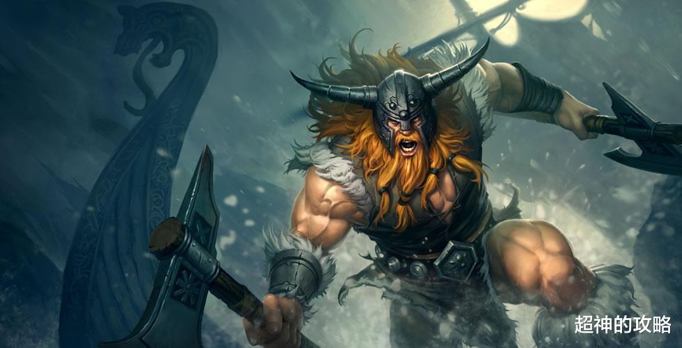 洛克王国碧海深蓝_lol手游:这套天赋与出装,让你的狂战士不再是三板斧英雄
