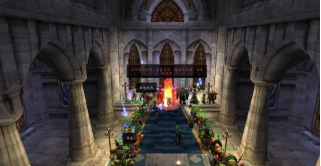 《【煜星注册链接】游戏史上饱受争议的两场婚礼!WOW部落攻下暴风城结婚是亵渎吗?》