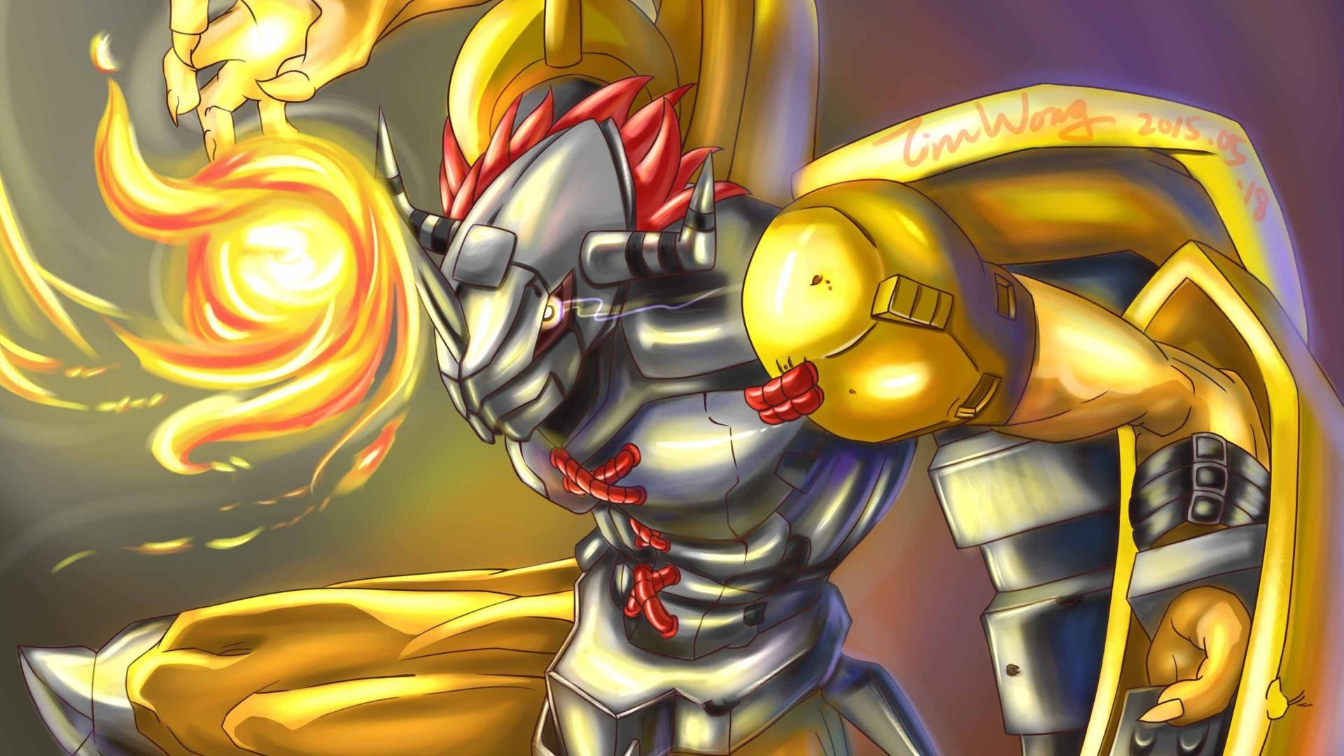 """数码宝贝: 战斗暴龙兽是""""恐龙克星"""",钢铁加鲁鲁却沦为""""钢铁哈士奇"""",这公平吗"""