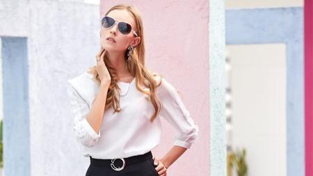 曈行快时尚女装干练穿搭 彰显都市女性的风景线!