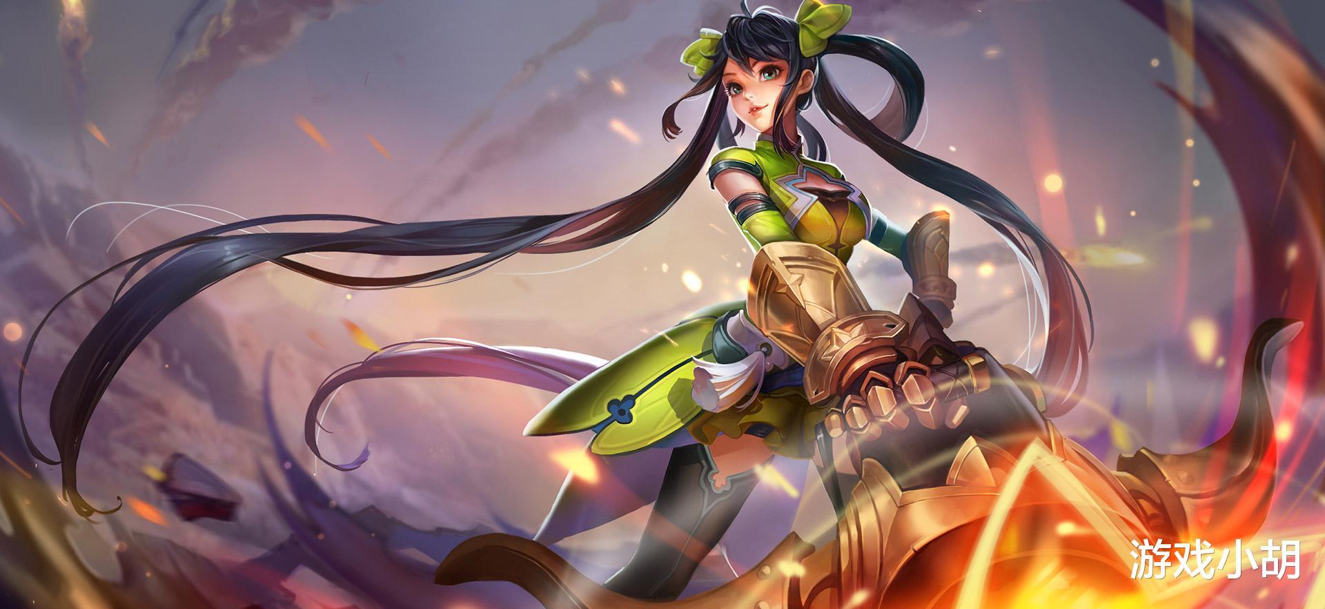 小小忍者套装属性_王者荣耀:孙尚香,一个非常耐玩的射手,实战中有什么要点呢?